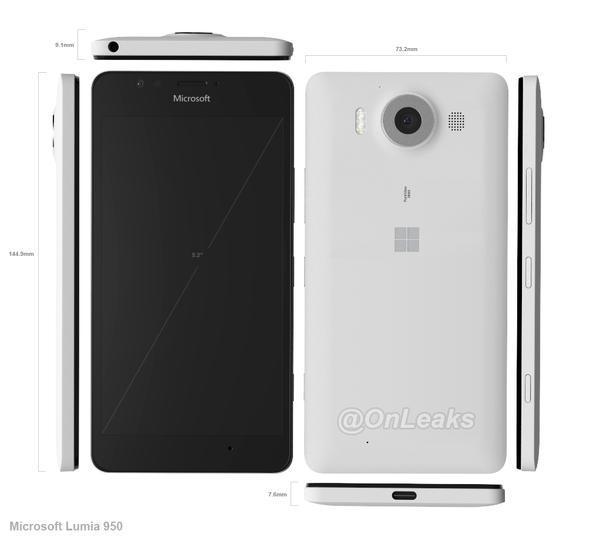Lumia-950-CAD