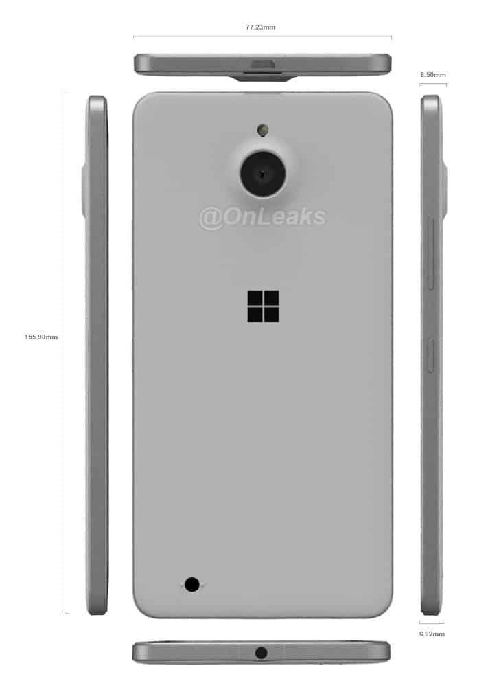 Lumia-850-vuoto