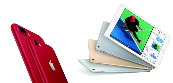Apple julkaisi uusia tuotteita: punainen iPhone 7, päivitetty iPhone SE ja uusi iPad