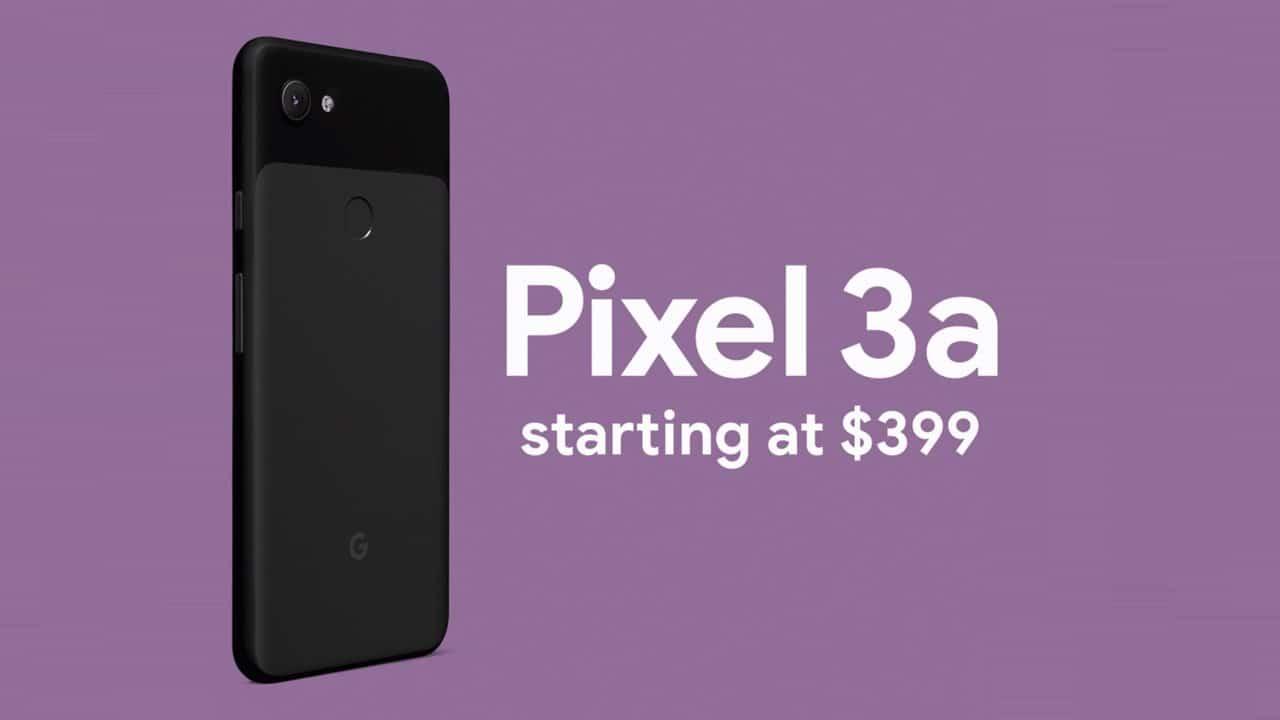 Pixel 3a Hinta