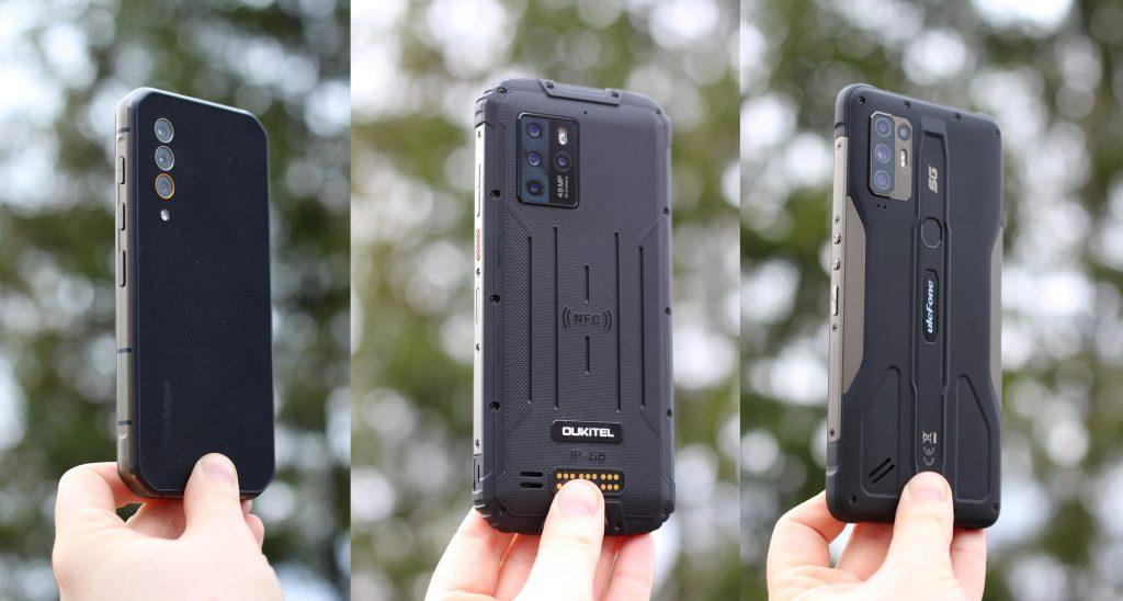 Testissä kestävärakenteiset 5G-älypuhelimet – Ulefone Armor 10 5G, Blackview BL6000 Pro sekä Oukitel WP10