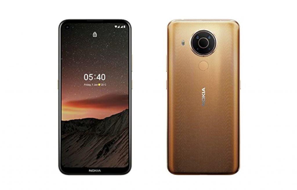 HMD Global julkaisemassa uuden väriversion Nokia 5.4 -puhelimesta